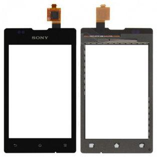 Vitre écran tactile noir pour Sony Xperia E C1505