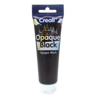 Peinture noire à gratter en tube - 120 ml CREALL