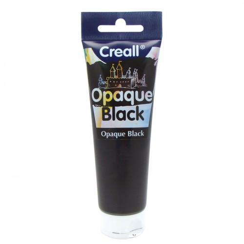 Negro tubo de pintura al rayado - 120 ml