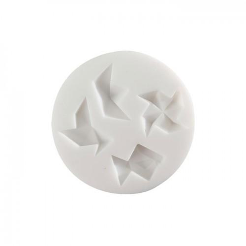 Moule en silicone mini origami pour pâte FIMO