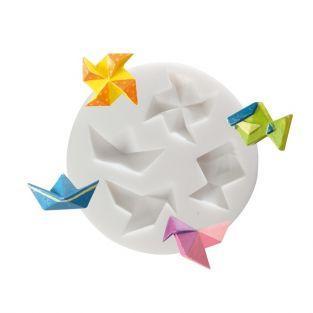 molde de silicona para Fimo - Origami
