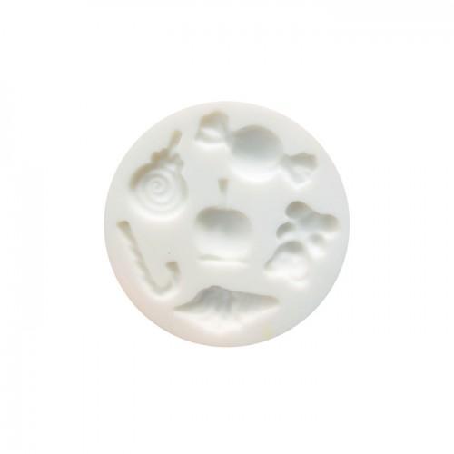 Moule en silicone mini bonbons pour pâte FIMO