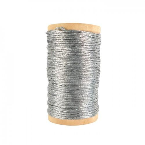 Bright thread 20 m - silver