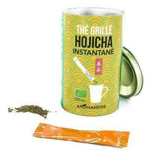 Tè verde Hojicha istantanei in buste