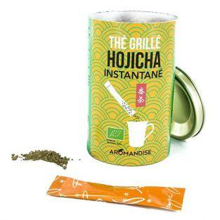 Thé vert Hojicha instantané en sticks