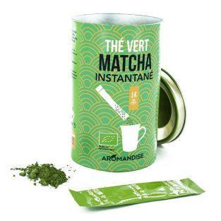 Thé vert Matcha instantané en sticks