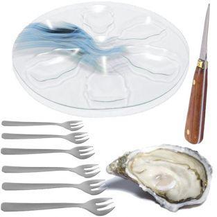 Coffret ustensiles à huîtres