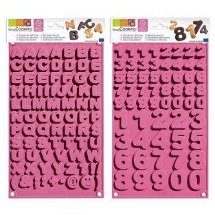 Kit de moules à chocolat école