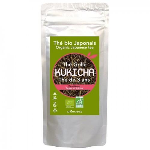 Sachet de thé biologique japonais Kukicha 120 g