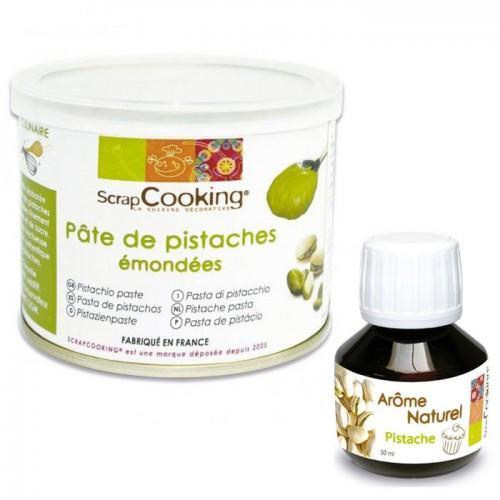 Pasta de pistacho + sabor a pistacho