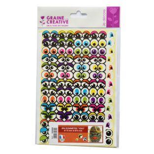 594 adhesive stickers eyes