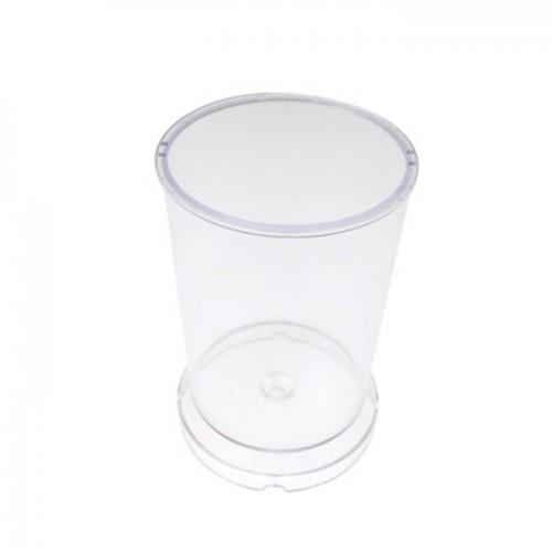 Moule à bougie plastique - cylindre H 7,5 cm