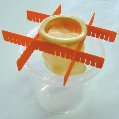 abarrote soportes para velas de látex o molde