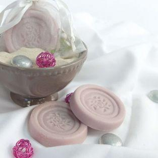 Molde de jabón - flor rosa 5 x 5 cm