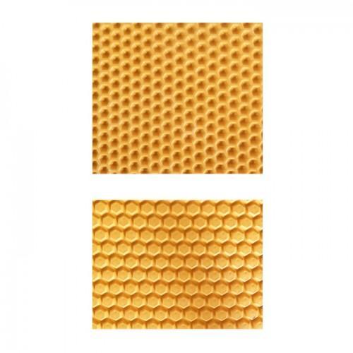 Placa de textura para Fimo - patrón de gofres