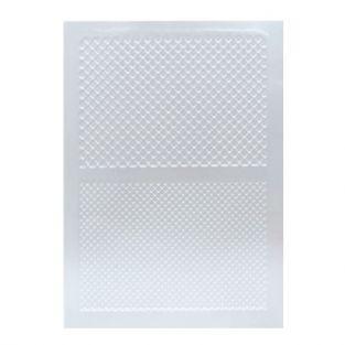 Plaque de texture pour pâte FIMO - motif gaufre