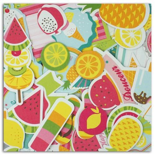 54 shapes cut - Summer