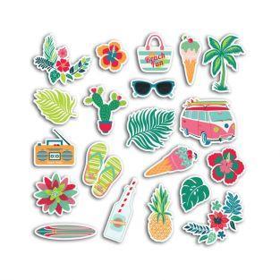 20 chipboards - Waikiki Beach