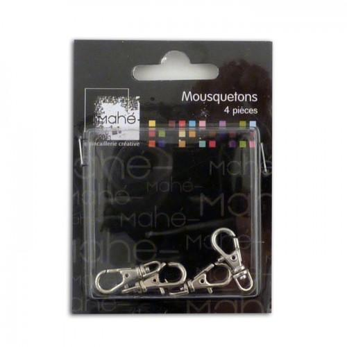 4 carabiners - small size