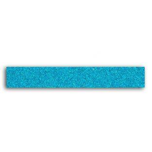 Glitter tape 2 m - Bleu azur
