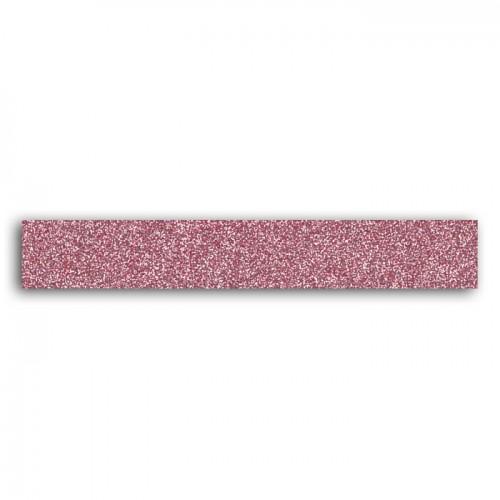 Glitter tape 2m - Powder pink