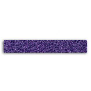 Glitter tape 2 m - Violet