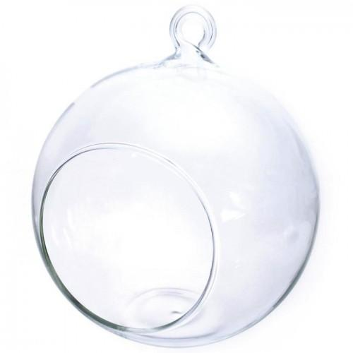 Open glass ball 12 cm