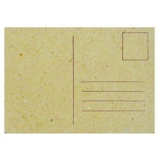 Carte de voeux à décorer 15 x 10,5 cm