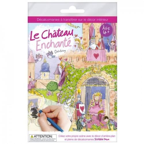 Décalcomanies Le château enchanté - A4