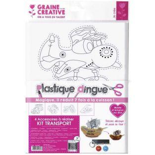 Kit plastique fou - transports