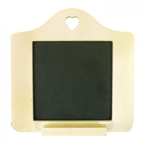 Mini pizarra decorativa 15 x 15 cm