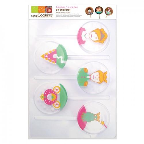 Lollipops molds - Princess - Creative cooking - Youdoit