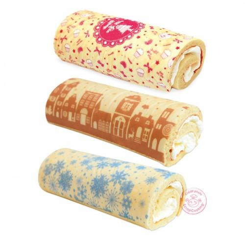 Baking sheets Transfer roll 'Christmas cake