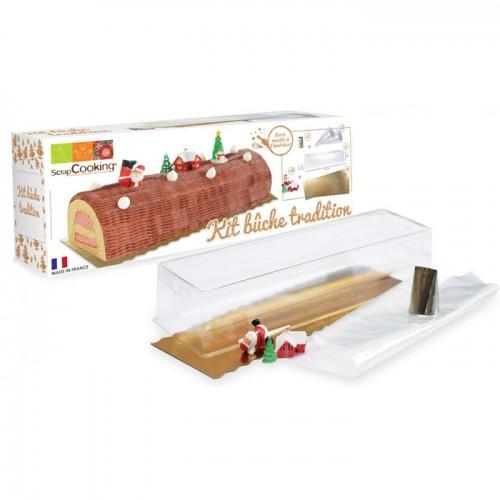 Kit Bûche tradition Scrapcooking
