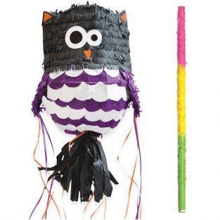Piñata Chouette + bâton
