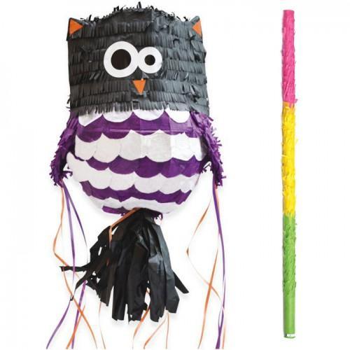 Owl piñata + stick