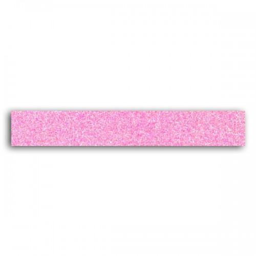 Masking Tape rose fluo à paillettes