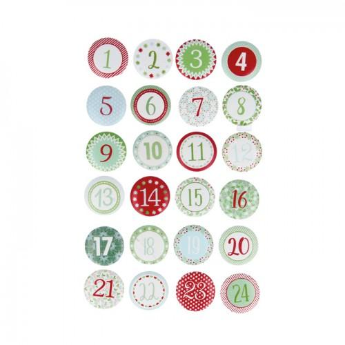 24 chiffres en bois pour calendrier de l 39 avent youdoit. Black Bedroom Furniture Sets. Home Design Ideas