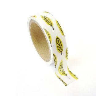 Masking tape feuille métallisée 1,5 cm x 10 m