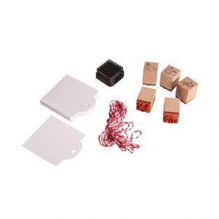 Kit mini sellos de madera - Verduras