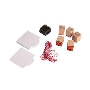 Kit mini wood stamps - Young vegetables