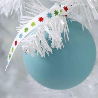 6 rubans Joyeux Noël