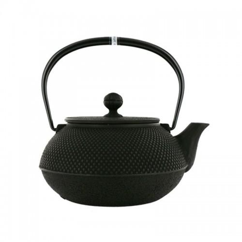 Japanese cast iron Teapot - Arare - Black