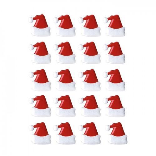 20 attaches parisiennes - bonnets de Noël