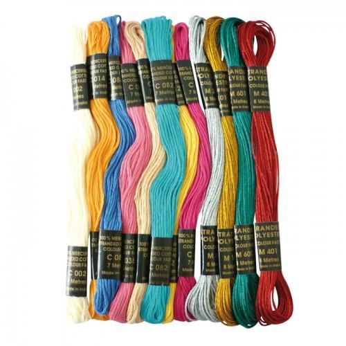 Fil de couleur pour bracelet brésilien - Bollywood métal