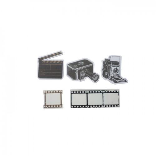 24 cámaras y películas 4 cm