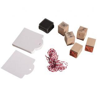 Kit mini wood stamps - Herbs