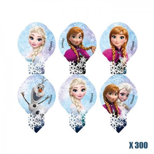 300 Decoraciones de Oblea - Frozen de Disney