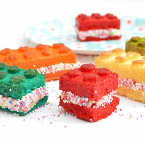 Molde de silicona para pasteles - bloques de Lego