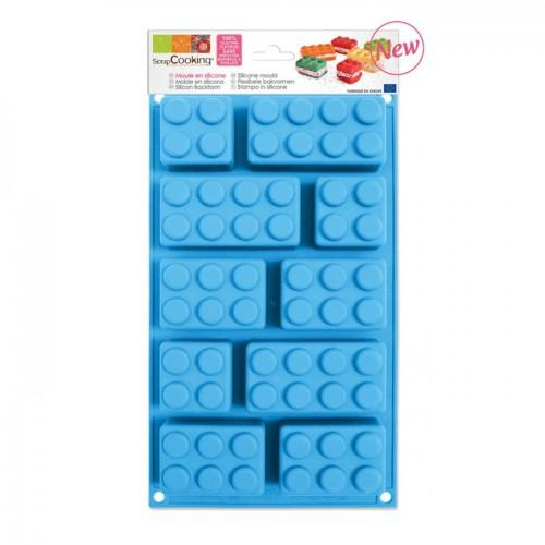 Silicone Cake Mould by Lego Bricks by ScrapCooking